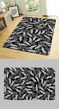 居家地垫产品图案花纹设计