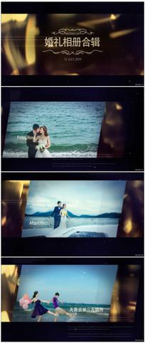 浪漫婚礼片头图片视频包装