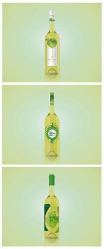 葡萄酒包装瓶贴