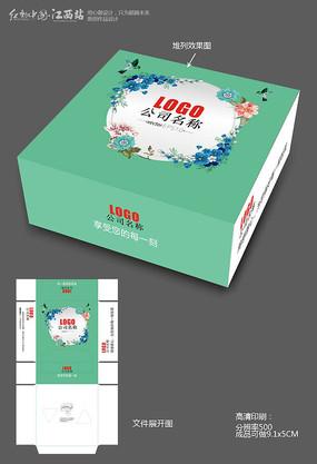素雅日系风纸巾盒包装