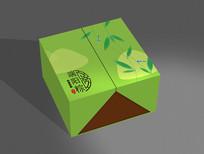 高端粽子礼盒包装设计