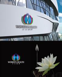 时尚女性健康logo