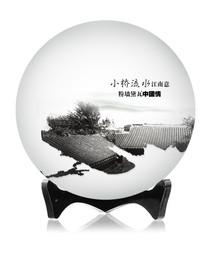 中国风饼纸小桥