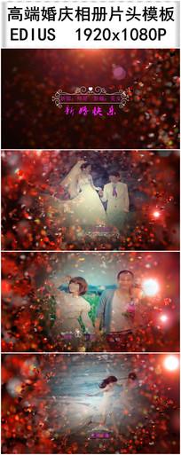EDIUS高端婚庆相册视频模板