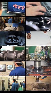 工业设计制造和生产视频 mp4