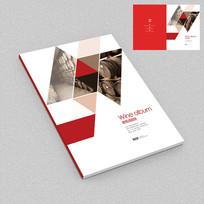 红酒庄园招商手册封面设计