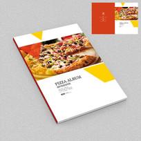 披萨连锁店经营手册封面设计