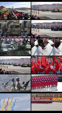 延时摄影国庆阅兵视频