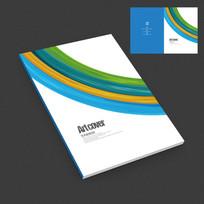 印刷广告公司宣传画册封面设计