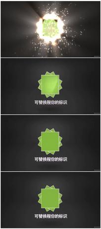火星粒子Logo动画展示