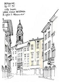 城市街道商业文化历史建筑