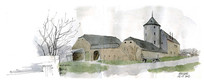 老房子手绘图