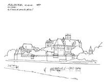 欧式古典大城堡