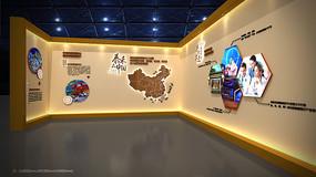 泰禾福州湾品牌墙工法展示3dmax模型下载