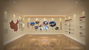 泰禾集团品牌墙工法展示3dmax模型下载