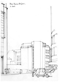 现代城市街景 JPG