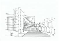 现代大学校园景观