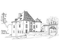 现代风格别墅建筑 JPG