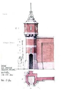 西方建筑手绘图 JPG
