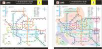 2017新版广州地铁地图