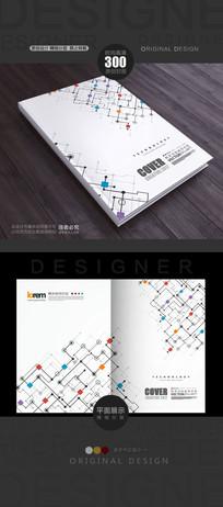 抽象科技元素封面