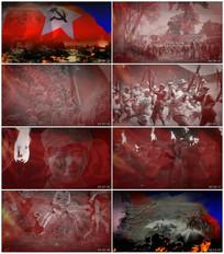 抗战十送红军视频素材
