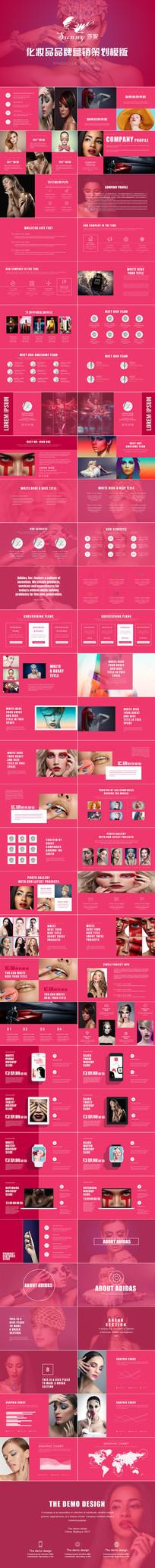 品牌化妆品欧莱雅市场营销策划ppt