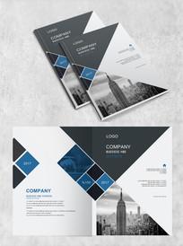 城市建筑几何企业封面