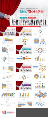 商业创业融资计划书PPT