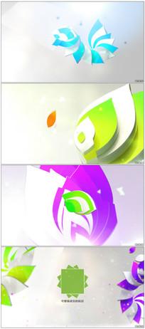 优雅三维企业Logo动画