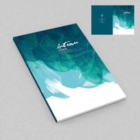抽象品牌画册封面