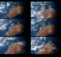 地球天气风云变化视频
