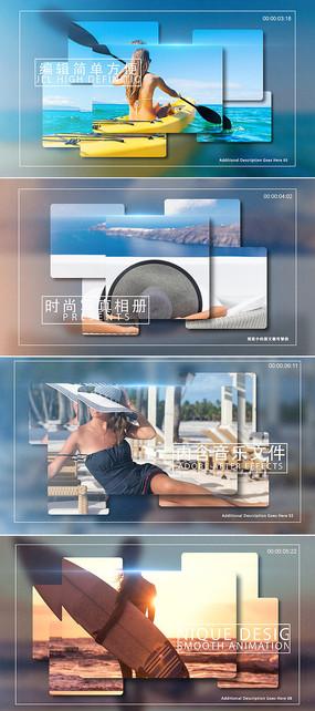 时尚写真相册ae模板