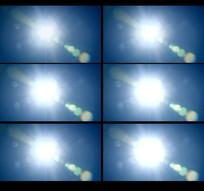 太阳光斑光照视频