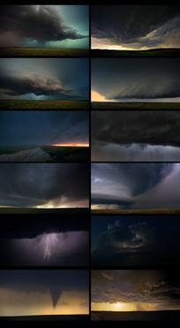 天气变化龙卷风视频
