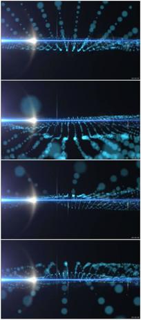 未来科幻光效舞台背景视频素材