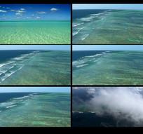 唯美海平面视频素材