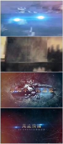 动作电影文字标题图片展示视频