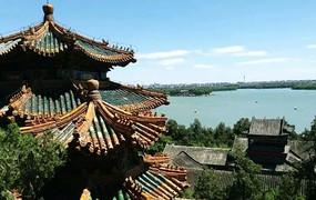古典塔楼景观