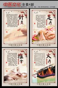 怀旧复古中国风中医文化展板挂图