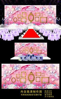 梦幻唯美高端婚礼背景