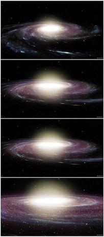 神秘探索宇宙银河空间视频 mp4