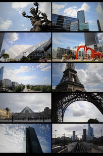 延时城市建筑宣传视频