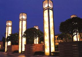 室外装饰灯柱