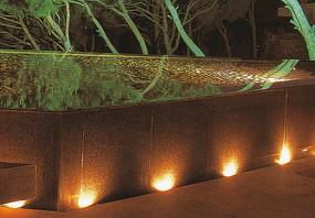 树池花池边灯具装饰
