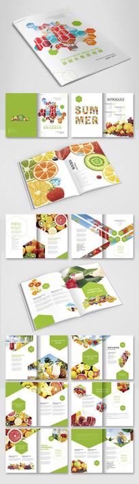 小清新水果画册