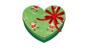 心形圣诞礼盒