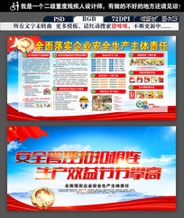 安全生产月消防安全文化宣传栏展板