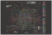 北京地铁终极线路规划图 AI