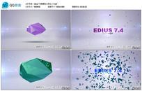 edius蝴蝶标志展示片头
